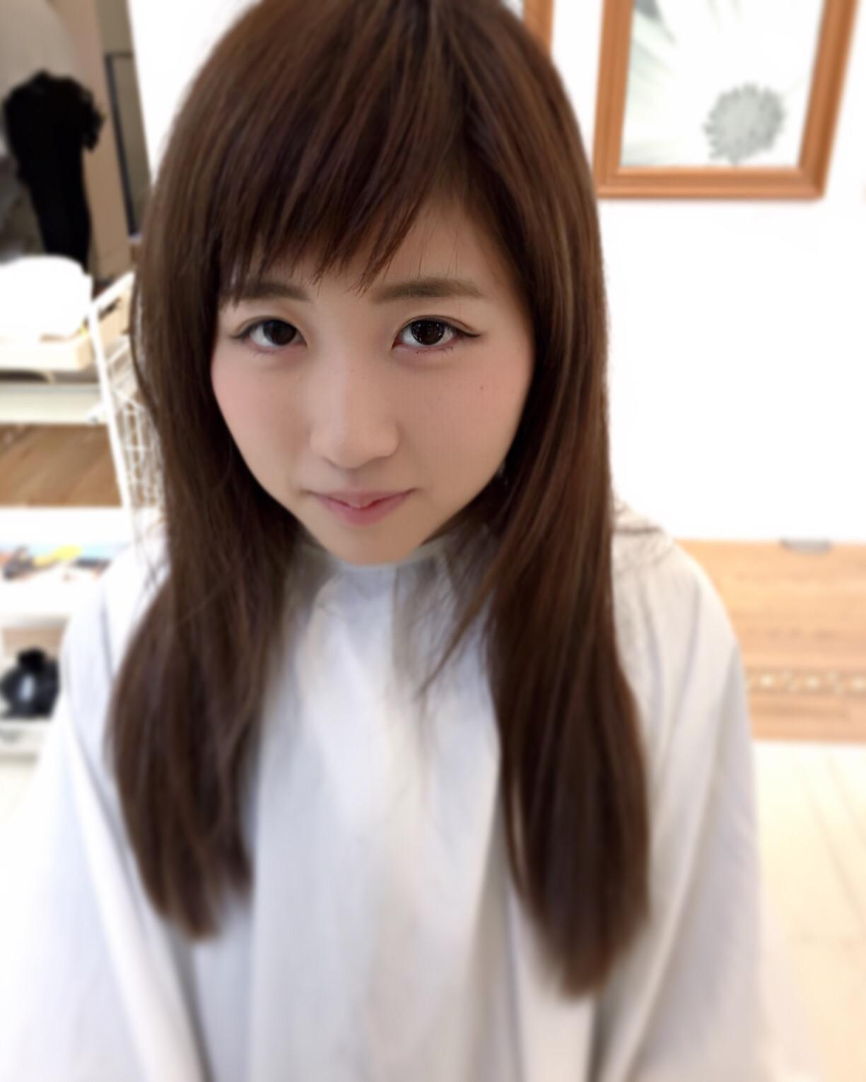 小顔になれる前髪の秘密