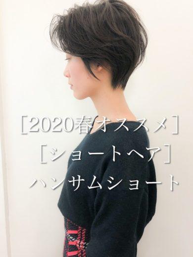 [2020年オススメショートヘア]大人ハンサムショート