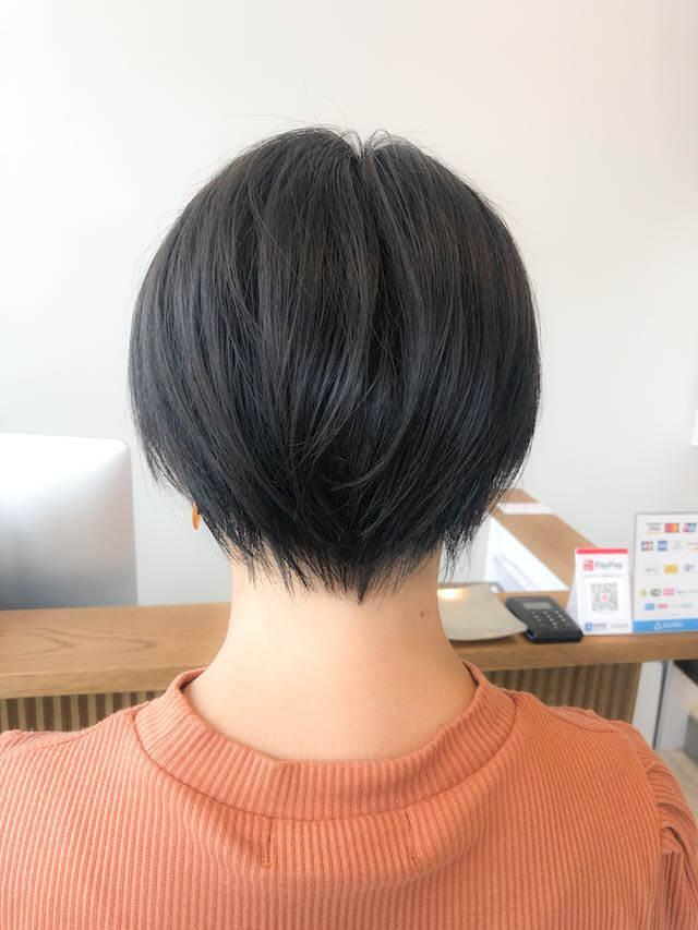 黒髪ショートのママさんはお洒落度抜群!!